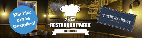 Alphens Restaurantweek bij jou thuis! Oude Ra