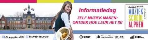 Nieuwe Muziekschool Alphen Informatiedag