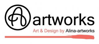 Alina-artworks logo